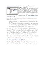 Tài liệu Cách cấu hình máy chủ Telnet với Windows Server 2008 Trong Windows Server 2008, việc pdf