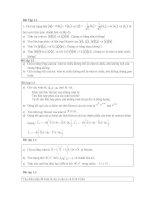 Bài tập cơ học lượng tử