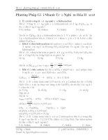 Tài liệu Phương pháp giải nhanh bài tập Hóa hữu cơ ppt