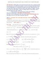 Bài giải chi tiết chương điện xoay chiều- Ôn thi Đại học