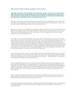 Tài liệu Năm bước kĩ thuật cơ bản trong nghiên cứu thị trường pptx