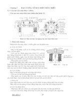 Tài liệu Đại cương về máy điện một chiều doc