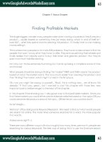 Tài liệu Google Adwords-Chapter 7-Finding Profitable Markets doc