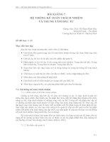 BÀI GIẢNG 7 HỆ THỐNG KẾ TOÁN TRÁCH NHIỆM VÀ TRUNG TÂM ĐẦU TƯ