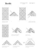 Tài liệu Nghệ thuật xếp hình Nhật Bản:beetle pdf