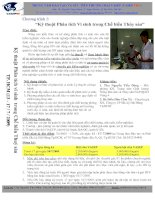 Tài liệu kỹ thuật phân tích vi sinh docx