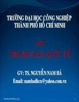 Tài liệu GÍAO ÁN THANH TOÁN QUỐC TẾ- CHƯƠNG 2 pdf