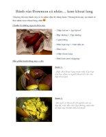 Tài liệu Bánh rán Doremon có nhân… kem khoai lang pdf
