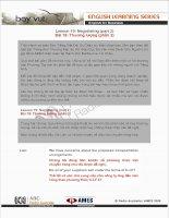 Tài liệu Lesson 19: Negotiating (part 2) ppt