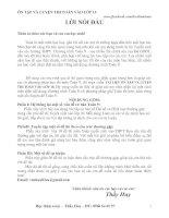 BỘ TÀI LIỆU ÔN THÌ MÔN TOÁN VÀO LỚP 10 ( ĐẦY ĐỦ + GIẢI CHI TIẾT)