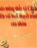 Phân tích hoạt động marketing của Galaxy Cinema