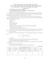 Tài liệu Bài 6: GIỚI THIỆU MỘT SỐ PHÉP THỬ KHÁC VÀ CÁC MẪU BẢNG CHỨNG NHẬN KẾT QUẢ THÍ NGHIỆM CÁC CHỈ TIÊU CƠ LÝ CỦA VẬT LIỆU XÂY DỰNG docx
