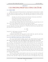 Tài liệu Chương 5 Các phương pháp gia công chuẩn bị pptx