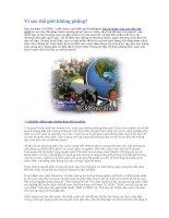 Tài liệu Vì sao thế giới không phẳng? pdf