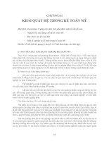 Tài liệu Khái quát hệ thống kế toán Mỹ_chương 2 doc