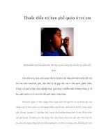 Tài liệu Thuốc điều trị hen phế quản ở trẻ em pptx