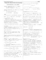 Tài liệu Chuyên đề luyện thi ĐH phần khảo sát hàm số pdf