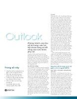 Tài liệu Phòng tránh ung thư cổ tử cung: các cơ hội chưa từng có để nâng cao sức ... pptx