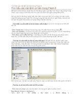 Tài liệu Tìm hiểu các mã lệnh cơ bản trong Flash 8 ppt