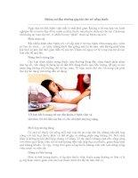Tài liệu Những sai lầm thường gặp khi cho trẻ uống thuốc pdf