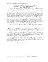BÌNH LUẬN mô HÌNH TĂNG TRƯỞNG KINH tế xét THEO yếu tố đầu vào của VIỆT NAM GIAI đoạn 2001 2010