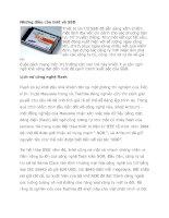 Tài liệu Những điều cần biết về SSD docx