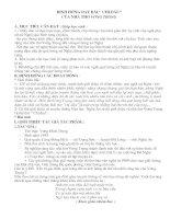 Bài giảng Chương trình tập huấn NV Nghệ An-Định hướng dạy một số văn bản