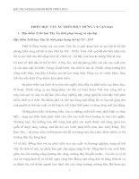 Tiểu luận triết học tây âu thời phục hưng và cận đại