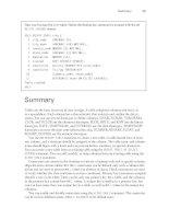 Tài liệu OCA: Oracle Database 11g Administrator Certified Associate Study Guide- P9 doc