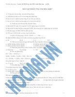 Tài liệu bai tap phan ung oxi hoa-khu lop 10 ppt