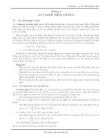 Tài liệu Chương 1 - Các khái niệm cơ bản trong kỹ thuật điện tử docx