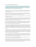 Tài liệu 10 bước thay đổi nghề nghiệp thành công doc