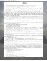Tài liệu Truyện ngắn tiếng Anh: Kidnapped pptx