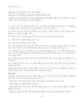 Tài liệu TÀI LIỆU 1: TRÌNH TỰ VÀ THỦ TỤC TỔ CHỨC ĐẠI HỘI CỔ ĐÔNG THƯỜNG NIÊN pdf