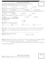 24 đề thi ôn toán lóp 5
