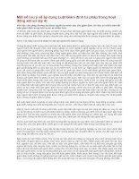 Một số lưu ý về áp dụng luật giám định tư pháp trong hoạt động xét xử (kỳ 4)