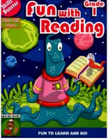 Skills Booster-  Fun with reading -  Grade 1