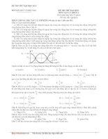 Tài liệu Đề số 04_Đề thi thử đại học 2010 môn Vật lý khối A (Bộ 10 đề vật lý) docx