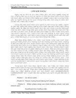 PHÂN TÍCH CHẤT LƯỢNG PHỤC VỤ VÀ BIỆN PHÁP NÂNG CAO CHẤT LƯỢNG PHỤC VỤ TẠI KHÁCH SAN BAMBOOGREEN