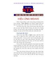 Tài liệu Eye Candy 3.0 : Hiệu ứng Weave doc
