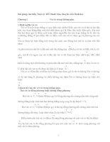 Tài liệu Hình học không gian về giải toán vectơ docx
