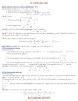 Bài giảng 15 đề thi thử ĐH môn Toán có đáp án