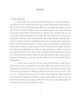 Khảo sát từ ngữ trong tập thơ thơ của xuân diệu