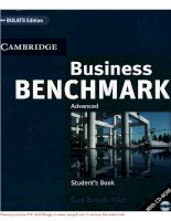Tài liệu Student''''s Book: Business Benchmark_Cambridge_Part 1 pdf