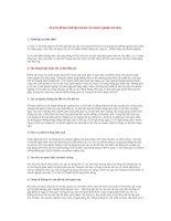 Tài liệu 20 lý do để bạn thiết lập website cho doanh nghiệp của mình doc
