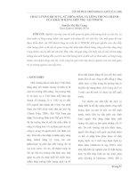 CHẤT LƯỢNG DỊCH VỤ, SỰ THỎA MÃN, VÀ LÒNG TRUNG THÀNH CỦA KHÁCH HÀNG SIÊU THỊ  TẠI TPHCM