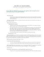 Tài liệu Miễn thuế TNCN đối với chuyên gia nước ngoài thực hiện chương trình, dự án viện trợ phi chính phủ nước ngoài tại Việt Nam doc