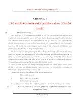 Tài liệu Các phương pháp điều khiển động cơ một chiều - Chương 1 pdf