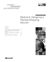 Tài liệu Module 6: Designing a Remote Shopping Solution pdf