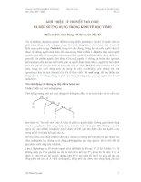 Tài liệu GIỚI THIỆU LÝ THUYẾT TRÒ CHƠI VÀ MỘT SỐ ỨNG DỤNG TRONG KINH TẾ HỌC VI MÔ- phần 2 pdf